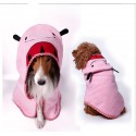 Bathrobe towel for the dog, puppy