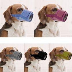Regulowany kaganiec nylonowy dla psa