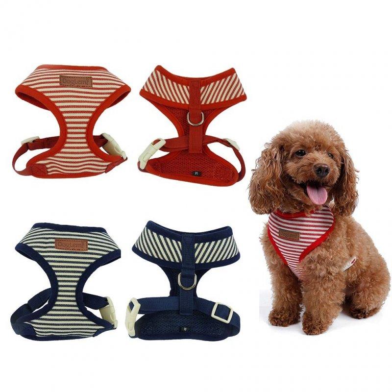 Bezuciskowe szelki dla psa - w paski 2 kolory