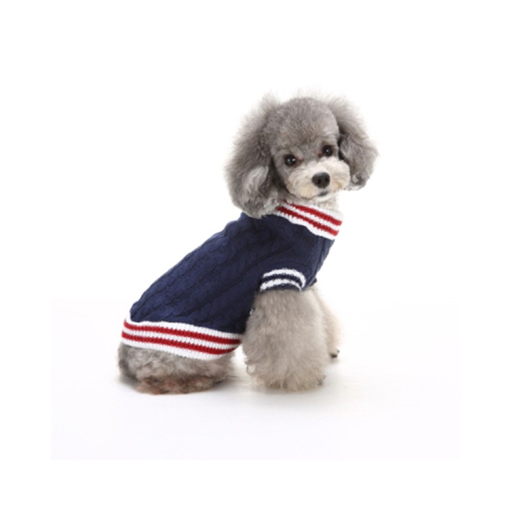 Sweater for dog, cat Navy