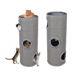 Scratching Cat gray tube 100 cm