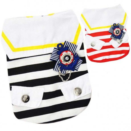 Dog Costume - Sailor vest