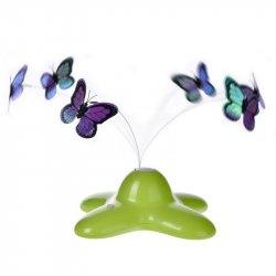 Funny Butterfly zabawka dla kota motylek