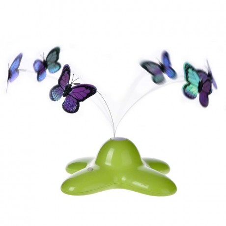 Funny Butterfly cat toy butterfly
