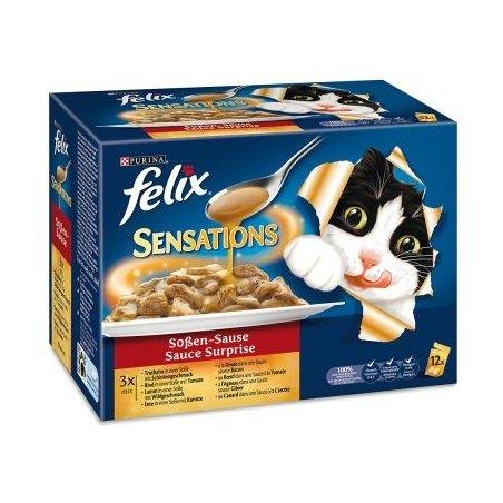 Felix Sensation sauce, 12 x 100 g