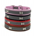 Reflective dog collar S