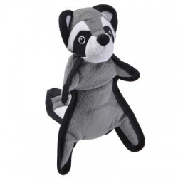 Plush toy with squeaker Raccoon