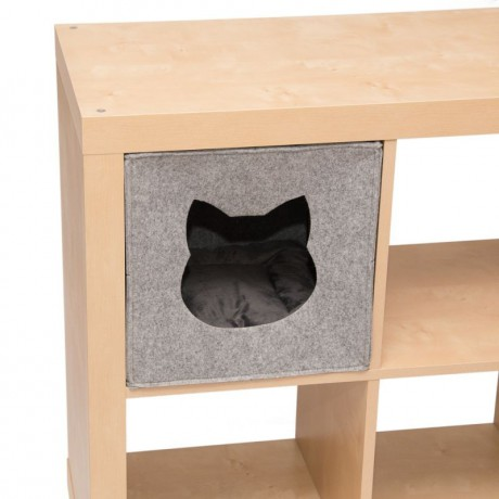 Felt Cat bed for IKEA ferniture
