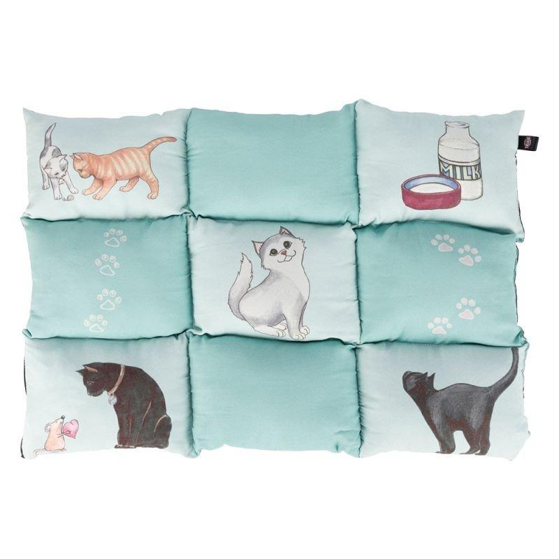 Poduszka Patchwork dla kota