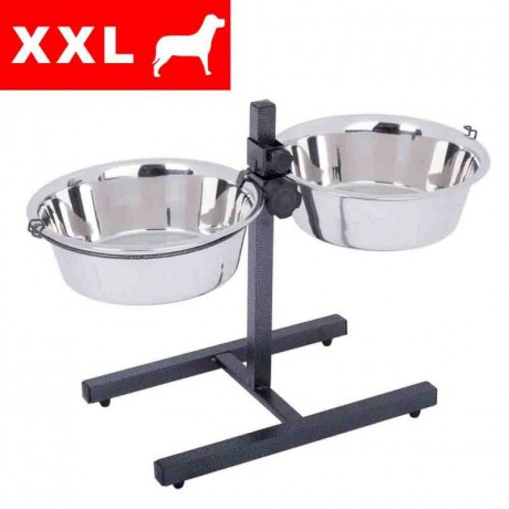 Bowl on stand 2x 4.2 L