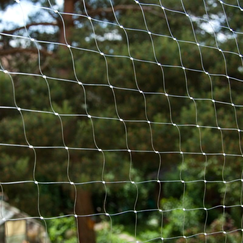 Protective grid transparent 6x3 m