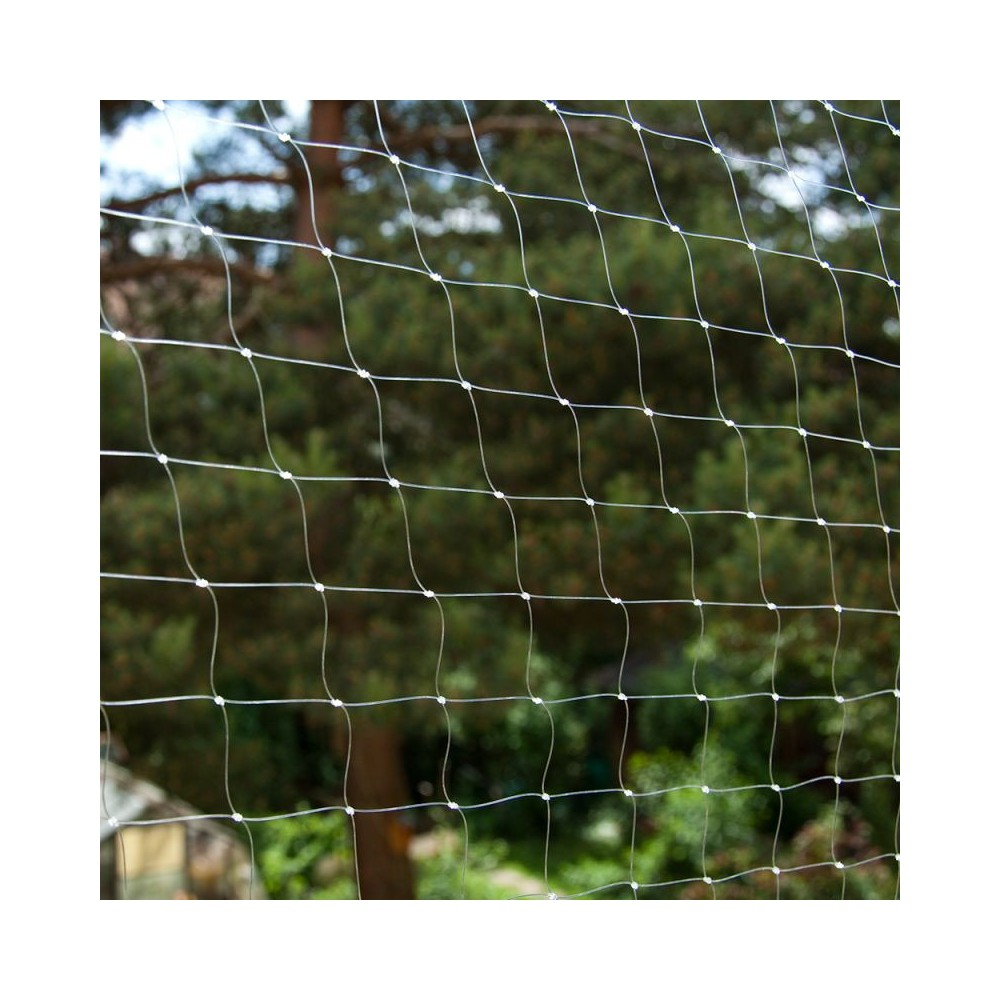 Protective grid transparent 8x3 m
