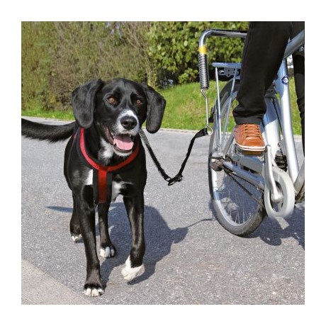 Transporter basket for a dog on a bicycle closed Trixie