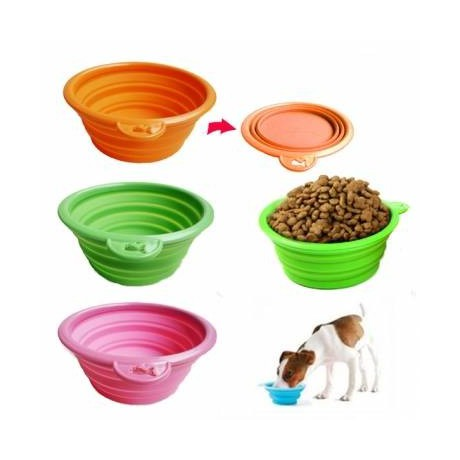 Silicone Travel Bowl for dog, cat