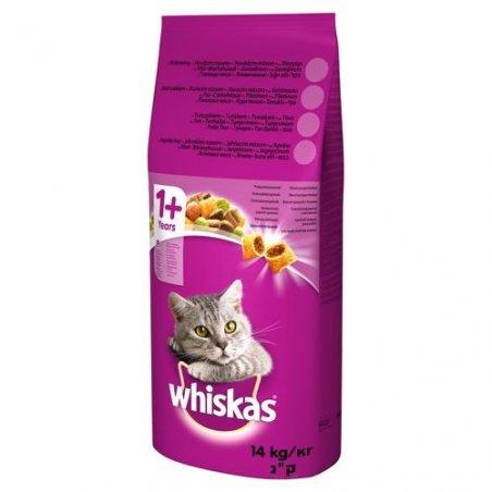 Whiskas sucha karma z kurczakiem 14 kg
