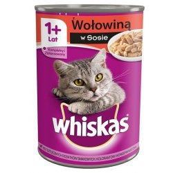 Whiskas Wołowina w sosie 24x400g