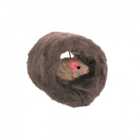 Zabawka Myszka w norce dla kota