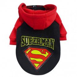 Bluza Superman rozpinana