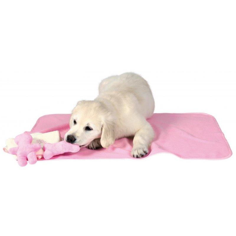 Różowa wyprawka dla szczeniaka Trixie