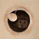 Drapak wieża XL dla kota szary 100 cm