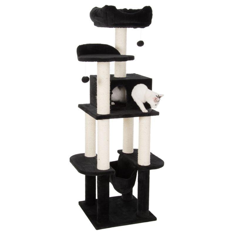fdf66d485ac9bb Drapak wieża dla kota 78 cm
