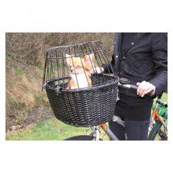 Wiklinowy koszyk do roweru