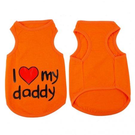 Koszulka dla kota - I love my daddy