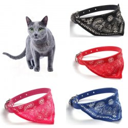 "Cat collar with a handkerchief ""Bandama"""