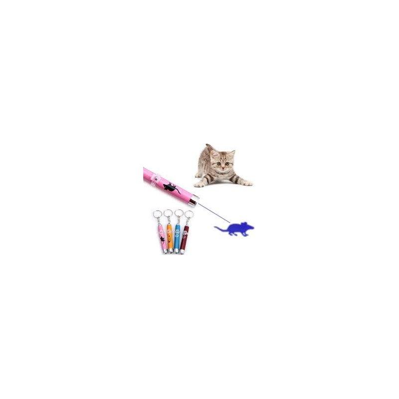 Laser w kształcie rybki dla ,kota