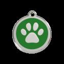 Adresówka, ID Dog Paw Engraved
