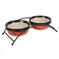 Miska na stojaku ceramiczne