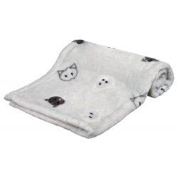 Kocyk polarowy dla psa szczeniaka75x100 cm