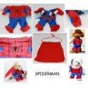 Strój Spiderman dla zwierzaka