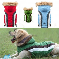 Dog jacket - hooded 7XL-8XL