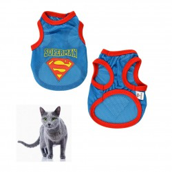 Superman T-shirt Cat