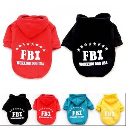 Costume for dog - blouse FBI