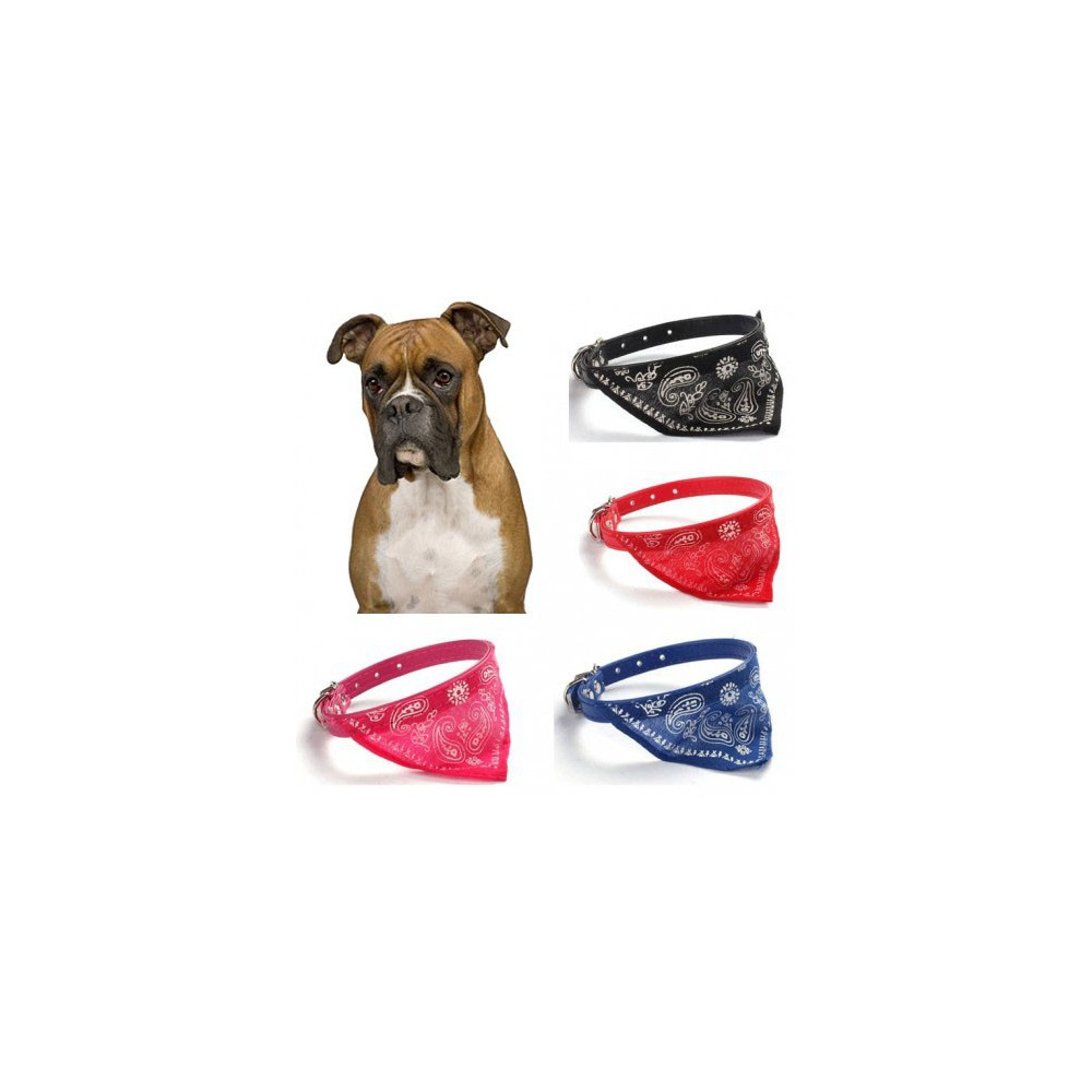 "Dog collar with a handkerchief ""Bandama"""